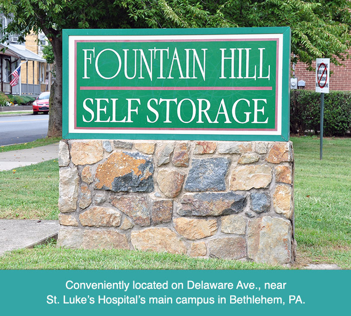 Fountain Hill Self Storage Sign